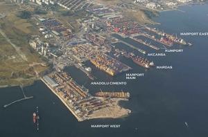 伊斯坦布尔码头分布